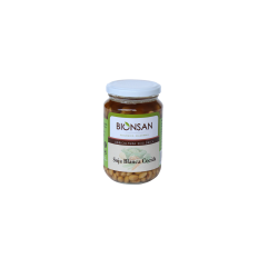 Soja blanca cocida ECO 220 gr