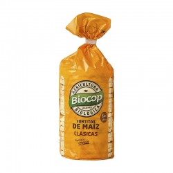 Tortitas de maíz Biocop 120 g