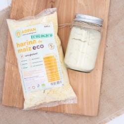 Harina de Maiz BIO 500 gr...