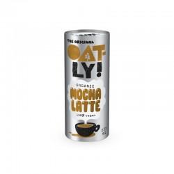Bebida de avena con café y...