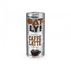 Bebida de avena con café...