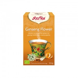 YOGI TEA  GINSENG FLOWER...