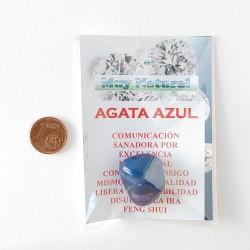 Mineral Agata Azul