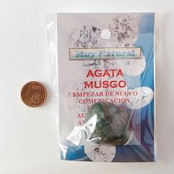 Mineral Agata Musgo