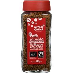 Cafe soluble descafeinado...