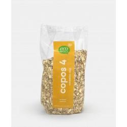 Copos 4 cereales BIO 500 gr...