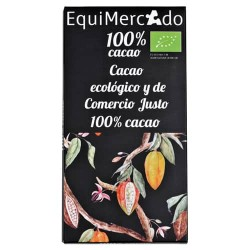 Chocolate negro cacao 100%...