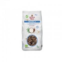 Granola quinoa con cacao y...